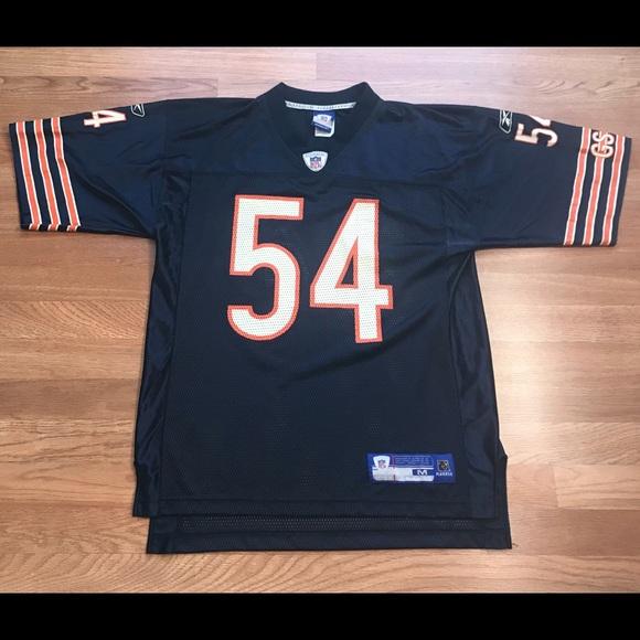 f85dfcda7e4 Reebok Shirts | Chicago Bears Brian Urlacher Jersey Medium M Nfl ...